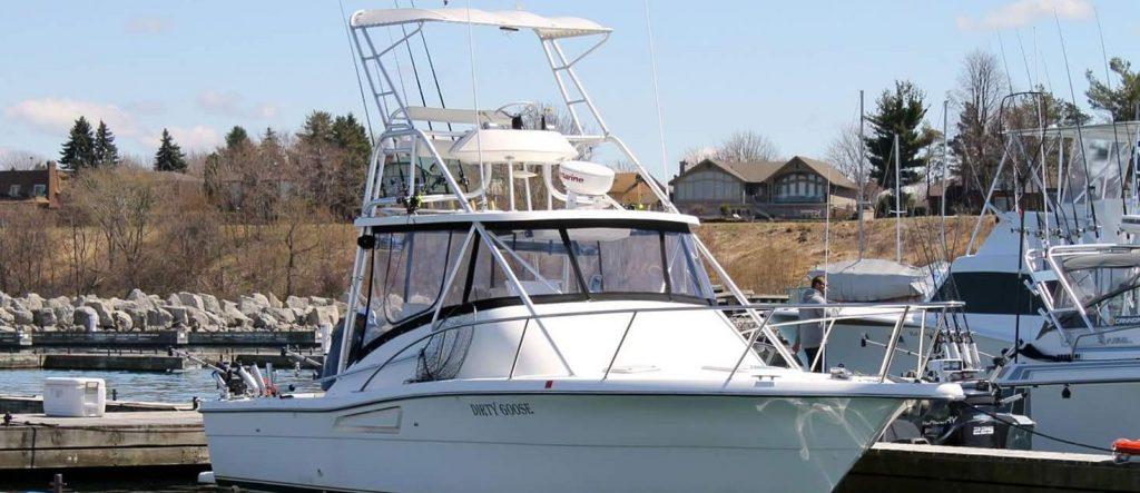 our fishing charter lake ontario