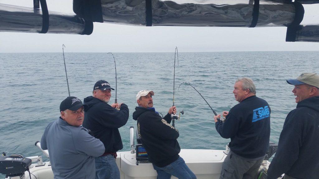 fishing off back of lake ontario charter
