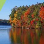 fall on lake ontario