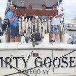 good day on lake ontario fishing charter