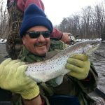 catching trout on lake ontario ny
