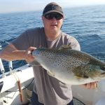 catching a nice one on lake ontario charter