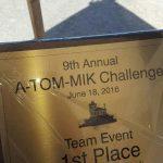 trophy from lake ontario fishing trip