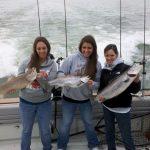 ladies day on lake ontario fishing charter